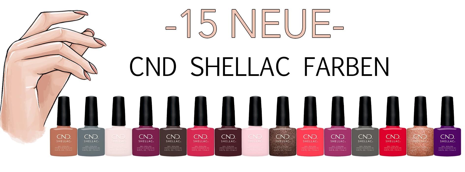 Neue Shellac Farben