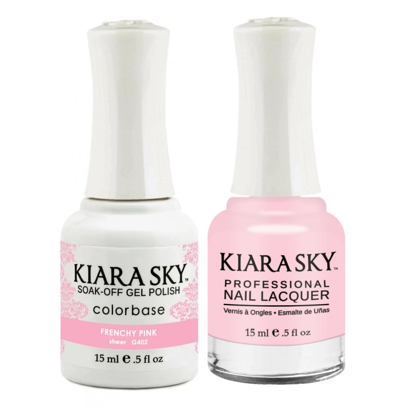 Sky Frenchy Pink Set 1 Shellac & 1 Vinyl Nailpolish