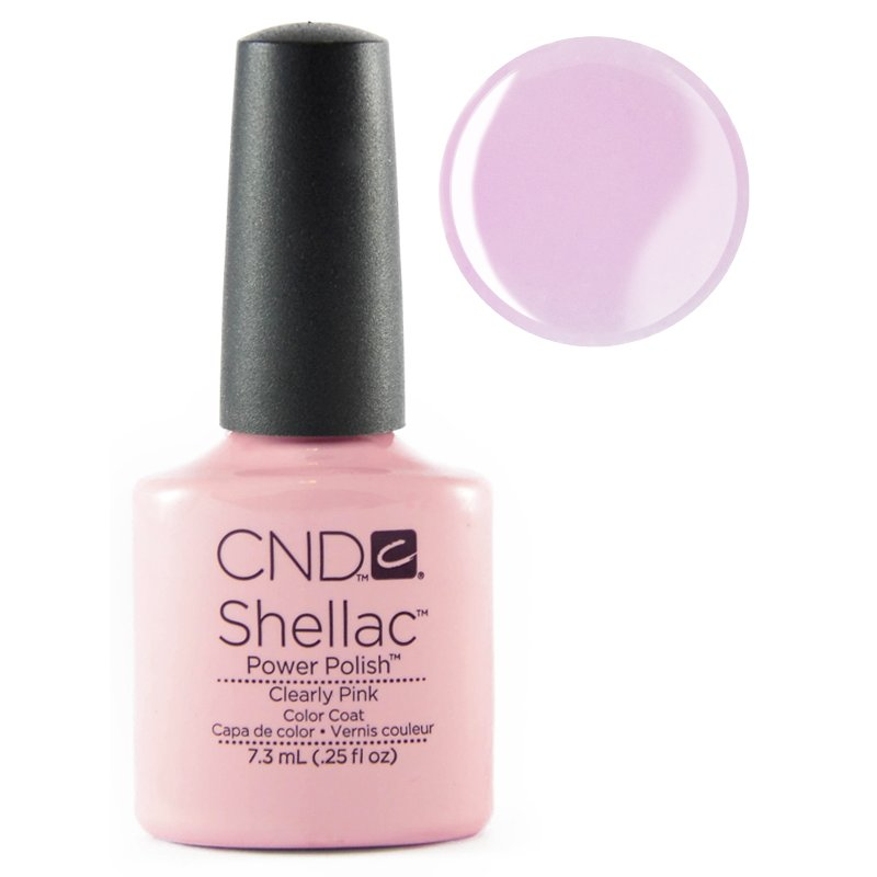 Shellac Cnd Clearly Pink 7 3 Ml 20 00
