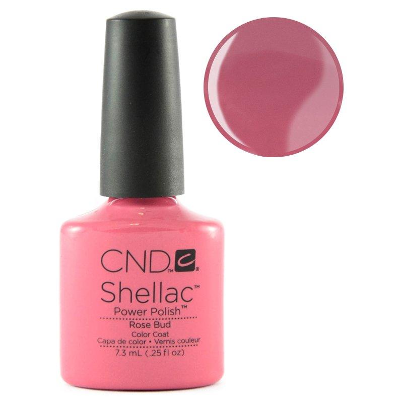 CND Shellac rose bud   Rose buds, Cnd shellac, Nail designs