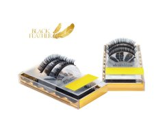 Black Feather Premium Eyelashes CC Curl 0,007 Mix Box ca....