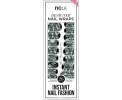 Nail Wraps Mint Appliqué