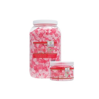 La Palm Dry Bath Soap Flowers Mid Rose Summer 100 gr