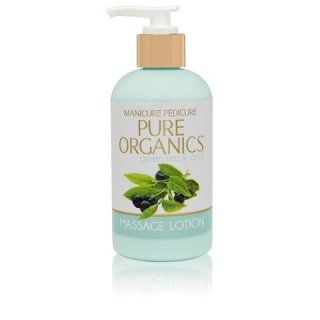 Pure Organic Continuous Massage Lotion Green Tea & Acai Berry 240 ML