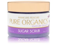 Pure Organic Sugar Scrub Lavender Blossom 354 ML