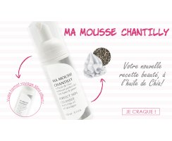 Ma mousse Chantilly - Perfect skin cleanser 50ml