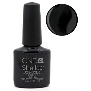 Shellac CND Black Pool 7,3 ML