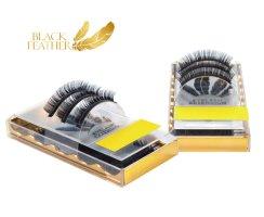 Black Feather Premium Eyelashes CC Curl 0,007 Box 13mm...