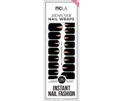 Nail Wraps Lunar Eclipse
