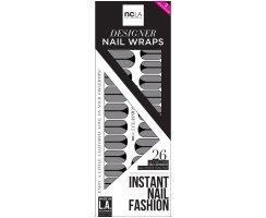Nail Wrap Classics - their silver starlets