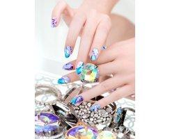 Nail Wraps by Karen G. - Princess Cut