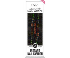 Nail Wraps Monster Ball