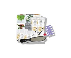 CND SPA Sugar Vanilla Pedicure Kit