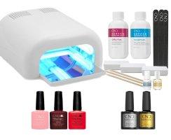 Shellac Starter Set inkl. UV Lampe!
