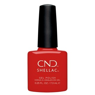 CND Shellac Devil Red, Cocktail Couture