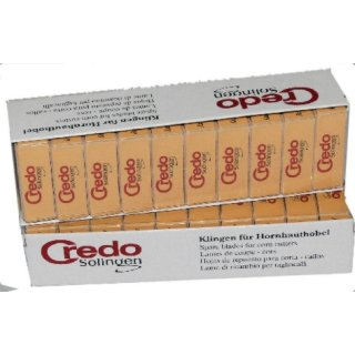 Ersatzklingen für Credo Hobel 100 Stück